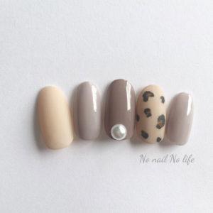 LUCIA LCA150、244、LCA220 + Peach Skin Top、My Fave. SAFARI Leopard Nail Seal